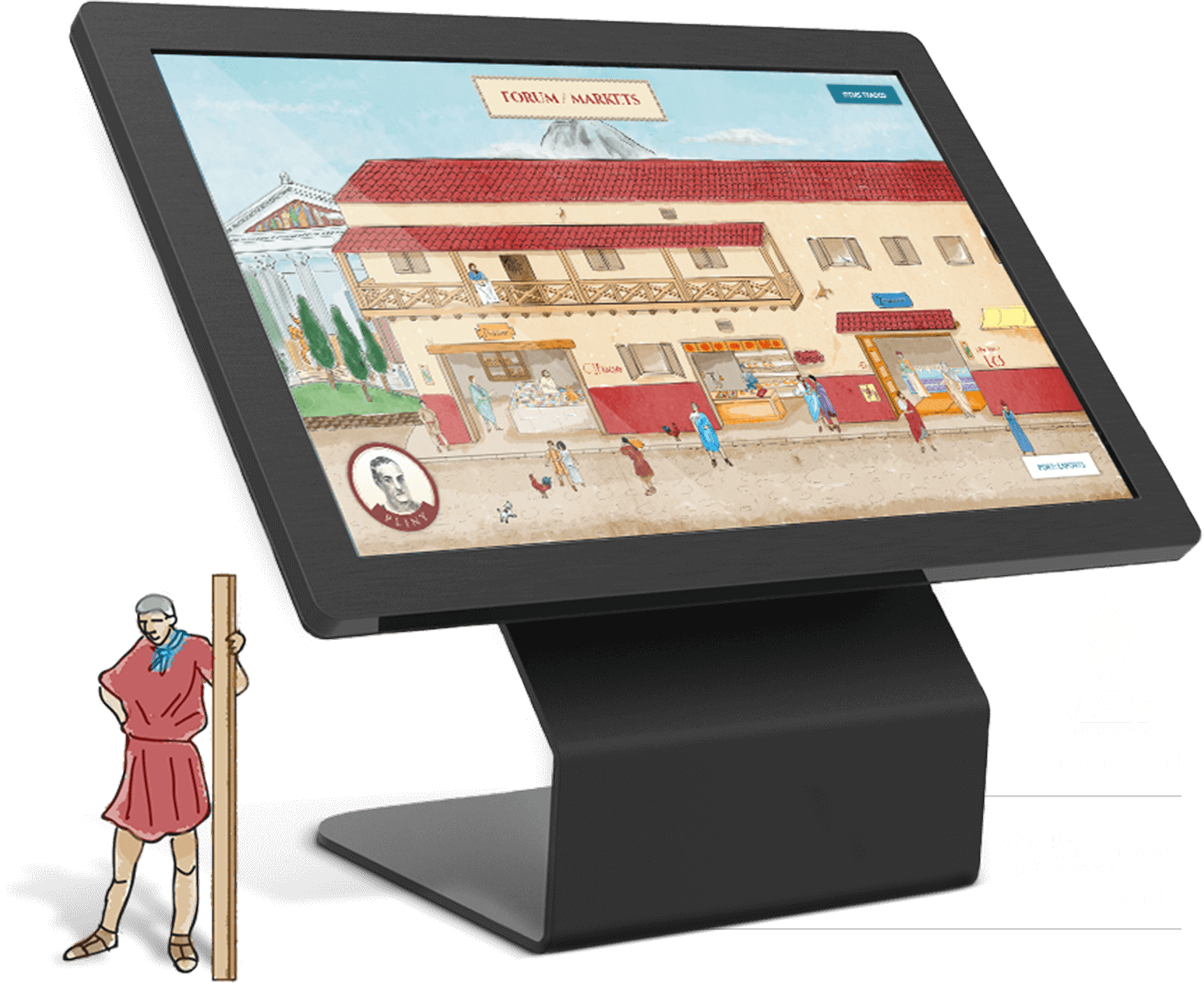 Touchscreen Interactive Kiosk